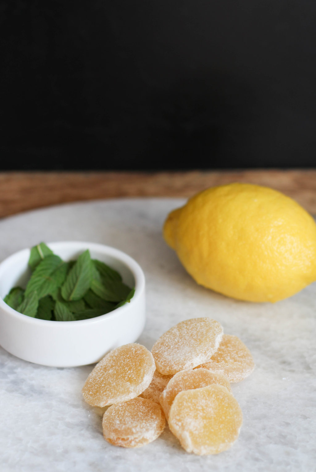Lemon Ginger Cookies with Mint | The Blondielocks | Life ...