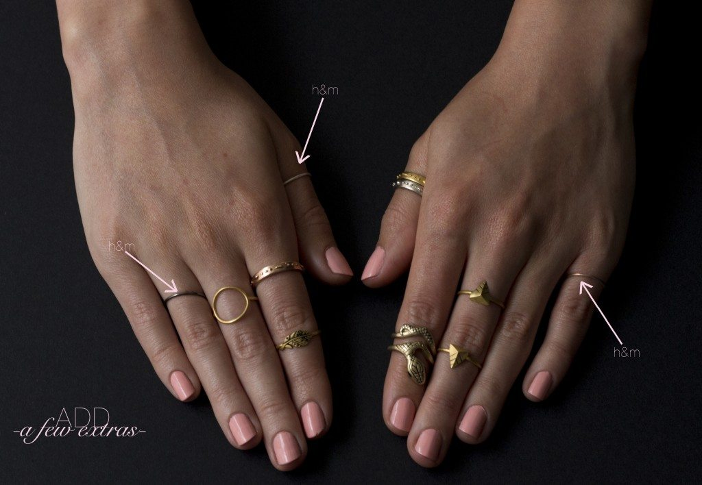 How To Stack Rings Like A Pro The Blondielocks Life