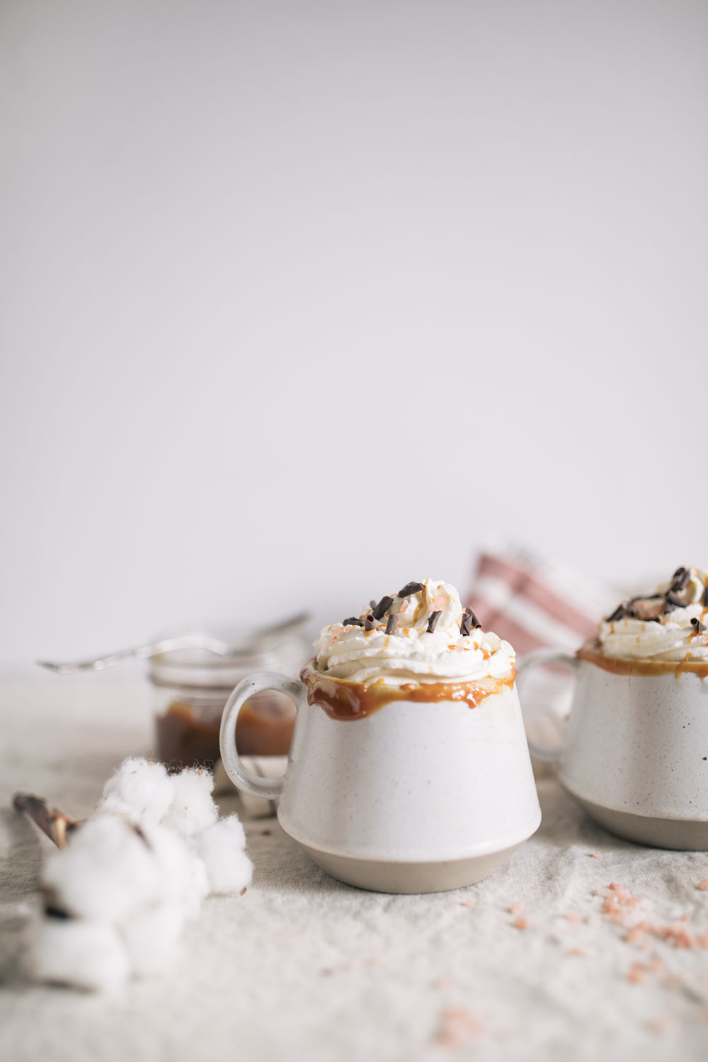 Salted Caramel Hot Chocolate | The Blondielocks | Life + Style