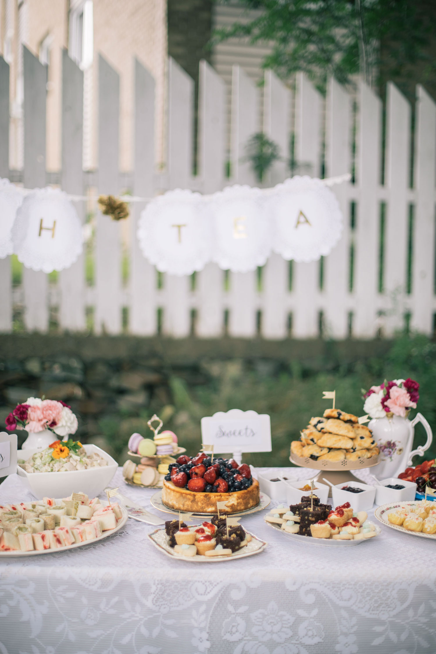 You Make My Dreams Come True High Tea Bridal Shower The