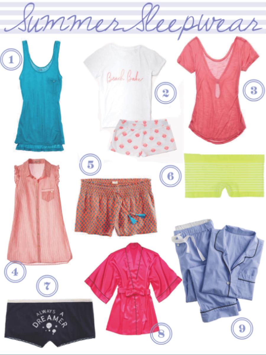 summertimesleepwear