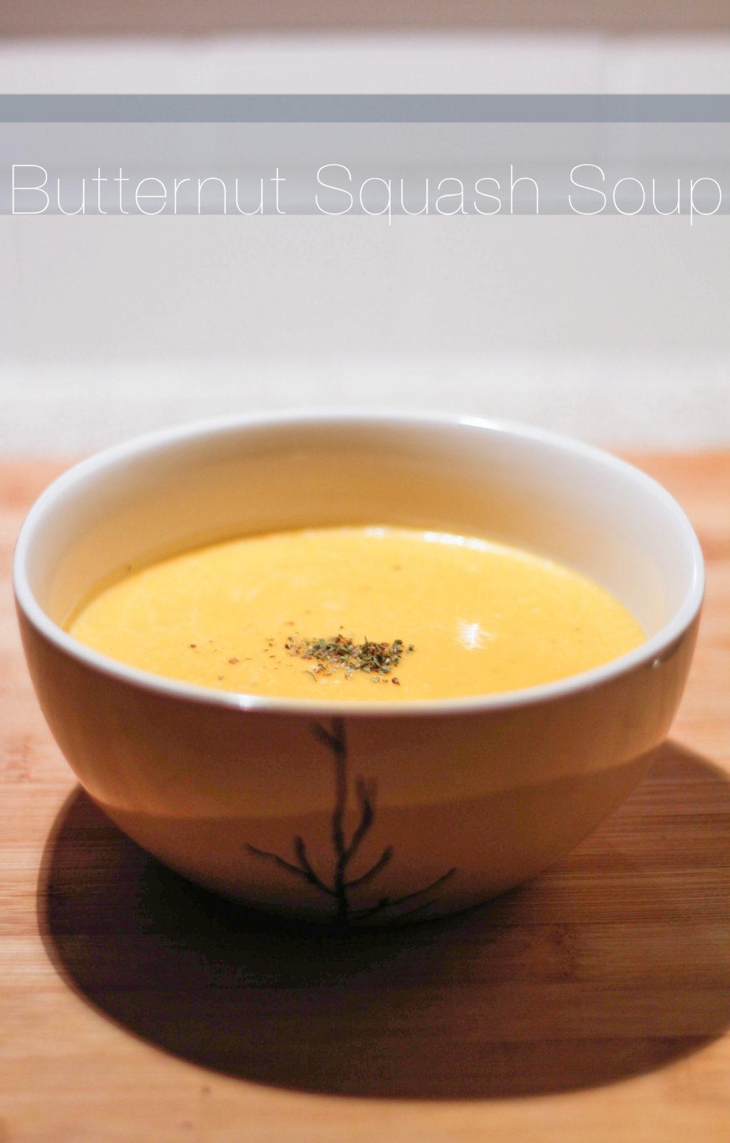 Butternut Squash Soup The Blondielocks Life Style