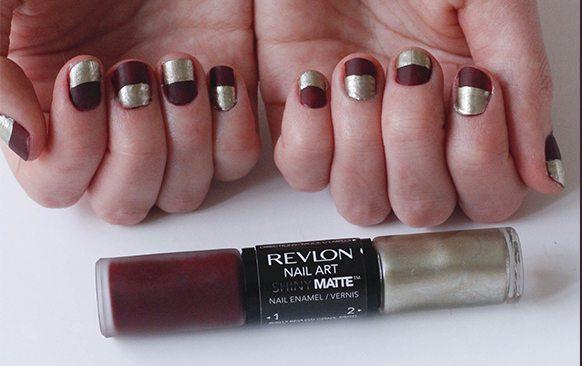Revlon Matte Black Nail Polish Creative Touch
