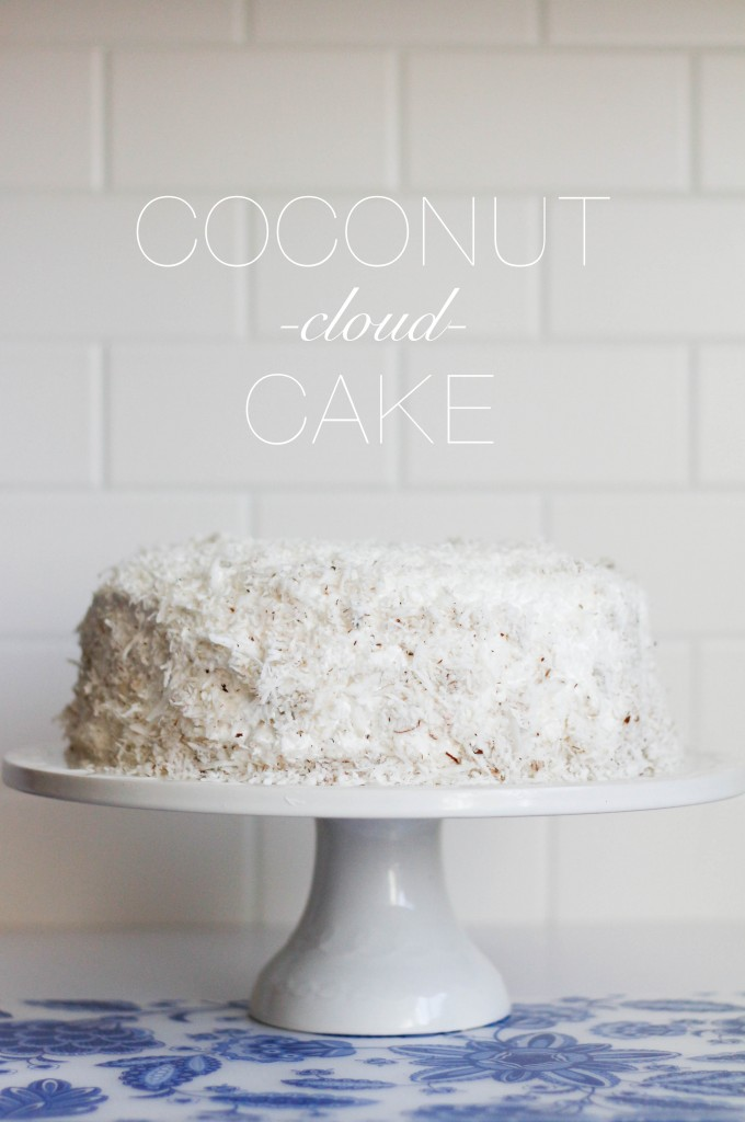 Coconut Cloud Cake | The Blondielocks | Life + Style