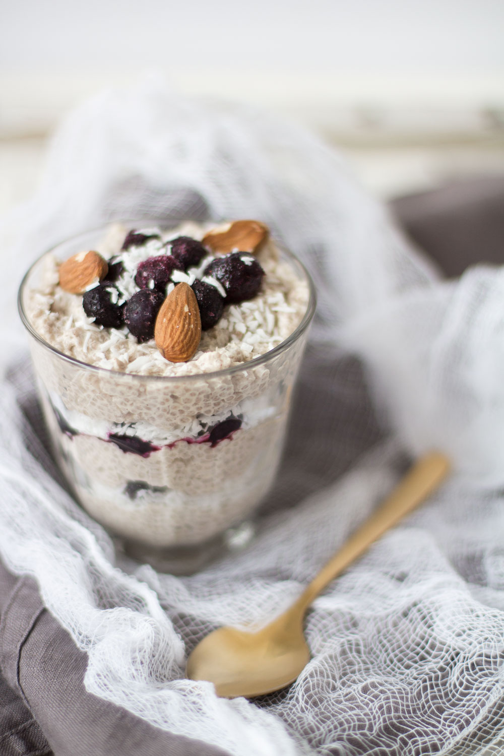 how to make chia pudding with milk