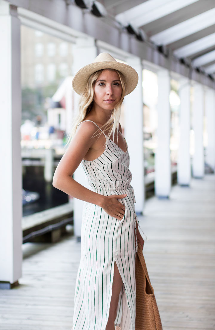 black-and-white-striped-dress-1