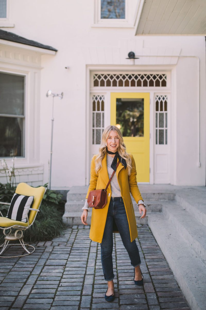 ... what make an otherwise simple outfit stand out and feel unique to the person wearing it. Iu0027d love to know how do you make an outfit feel special?  sc 1 st  The Blondielocks & Yellow Coat Yellow Door | The Blondielocks | Life + Style
