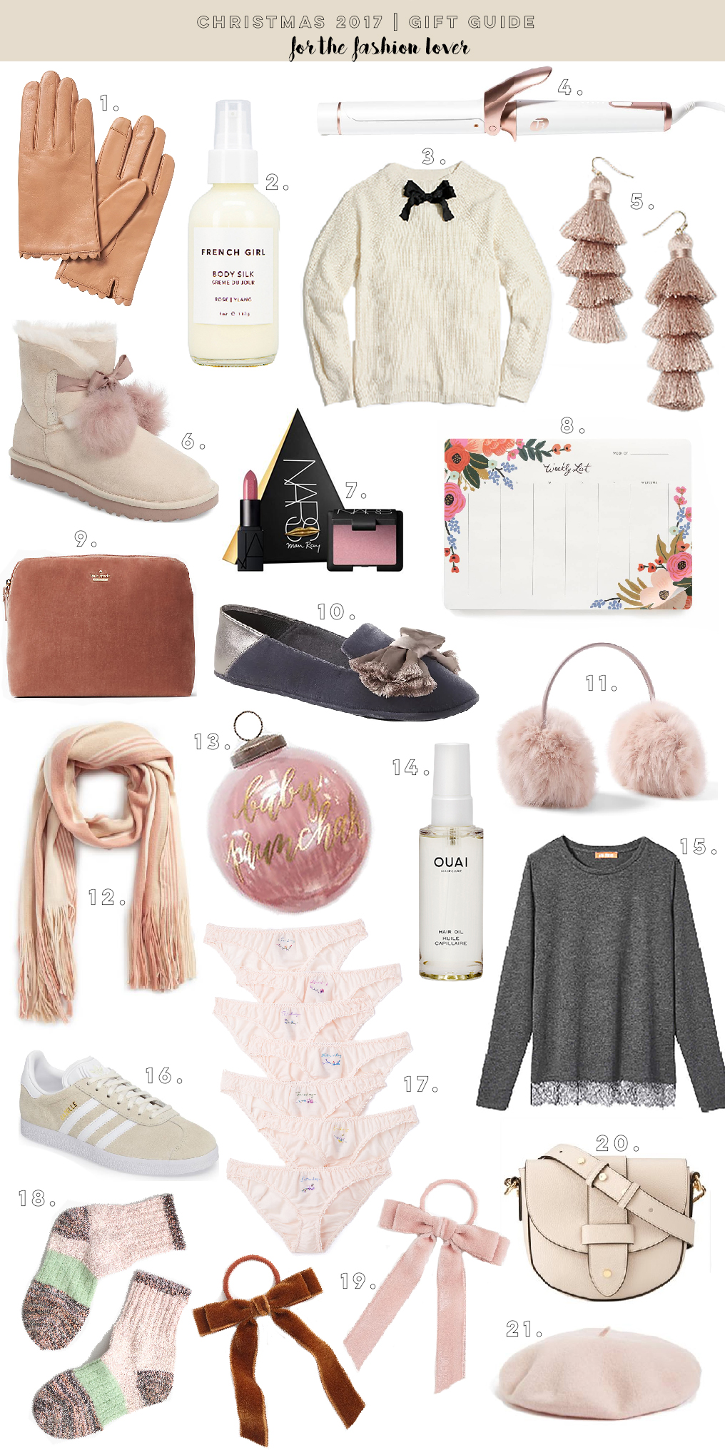 Christmas 2017 Gift Guide: For The Fashion Lover | The Blondielocks ...
