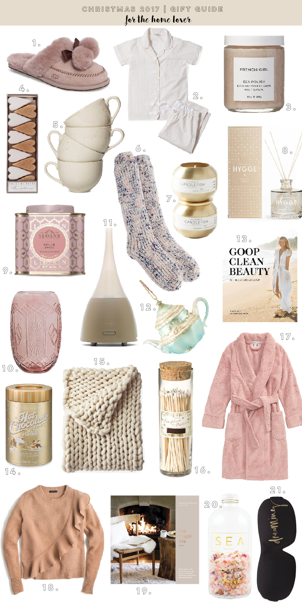 Christmas 2017 Gift Guide For The Home Lover The Blondielocks Life Style