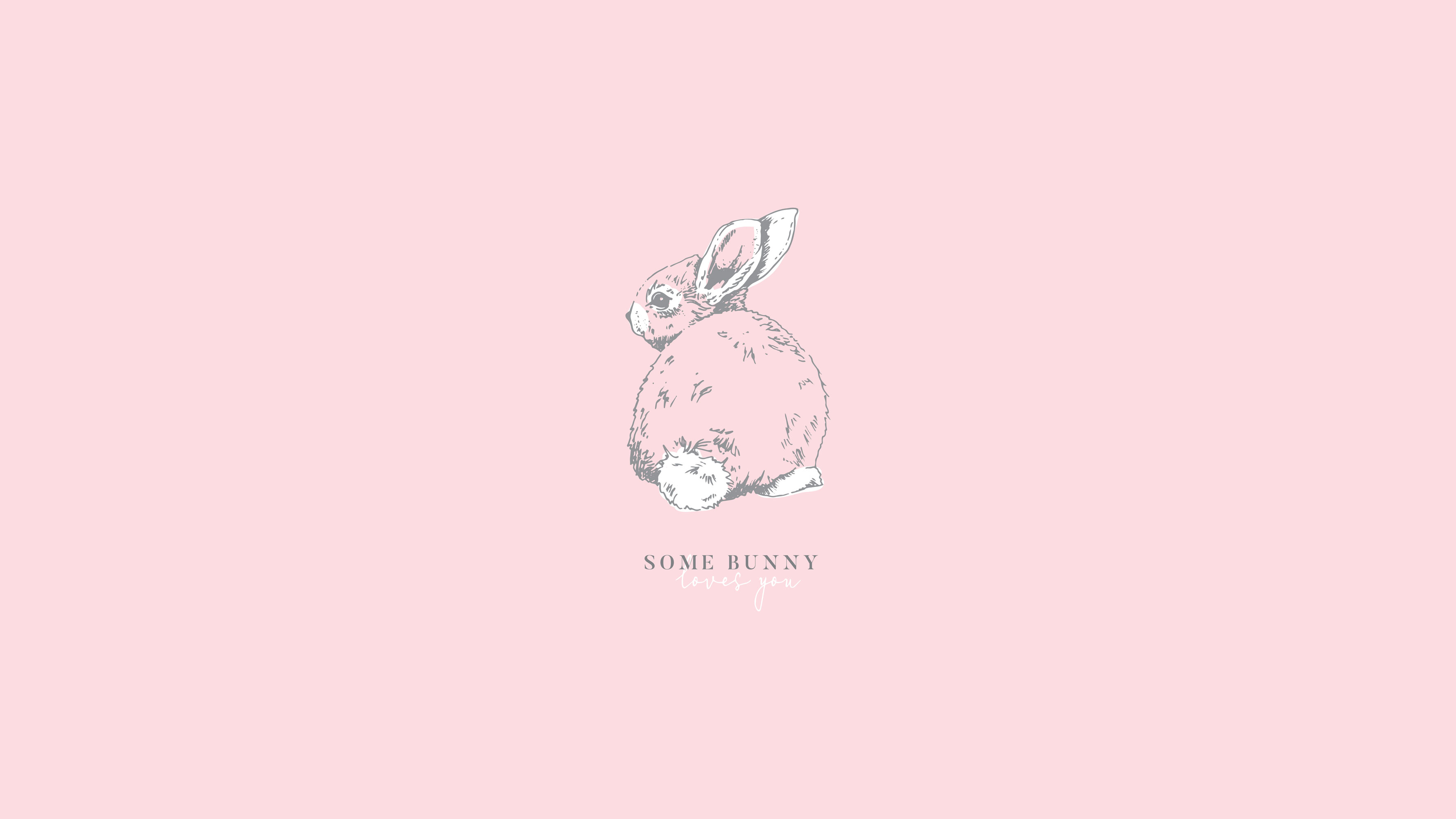 Some Bunny Loves You Free Printable Gift Tags And Wallpapers For