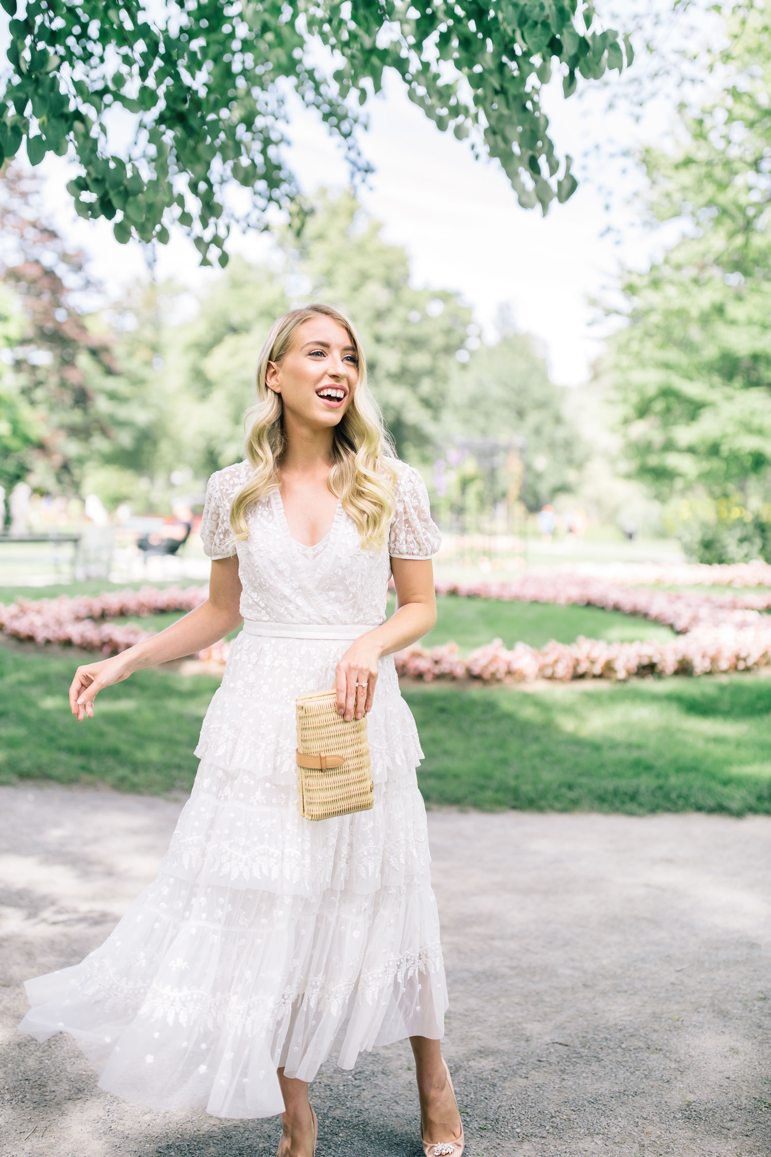 What I Wore For My Bridal Shower The Blondielocks Life Style